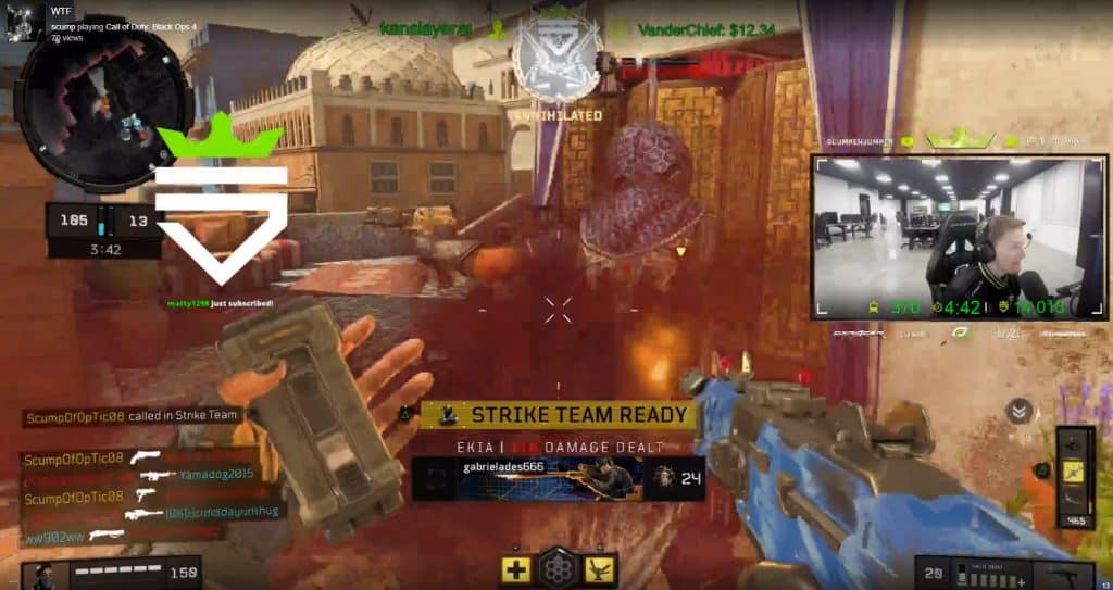 King Scump 1595 Points in 17 Seconds Call of Duty Black Ops 4 OpTic Gaming
