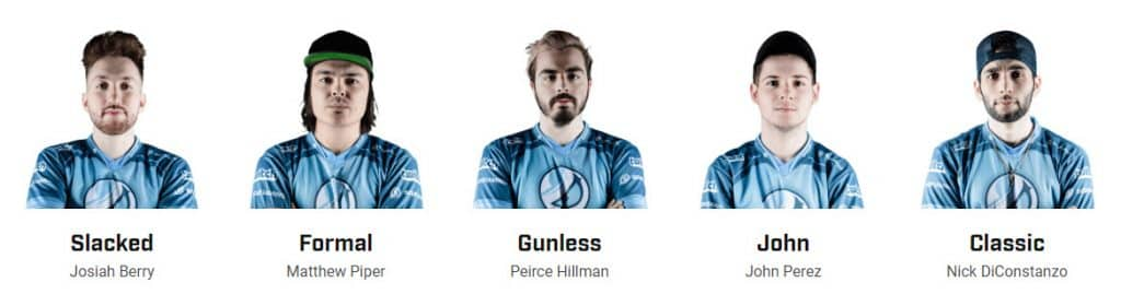 Luminosity Esports Roster Slacked Formal Gunless John Classic
