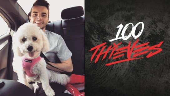 Nadeshot Matthew Haag Retro 100 Thieves Shirt Call of Duty OpTic Gaming Pro CWL