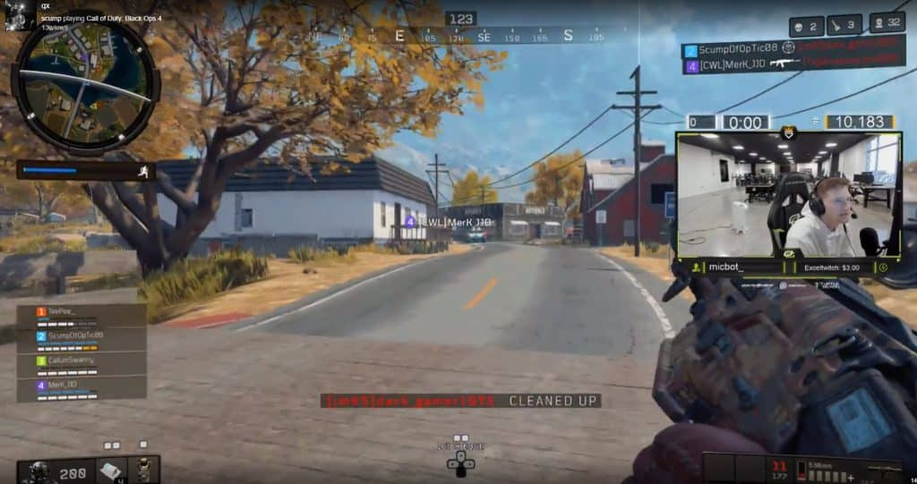 OpTic Scump Gets Called a Hacker in Call of Duty Blackout