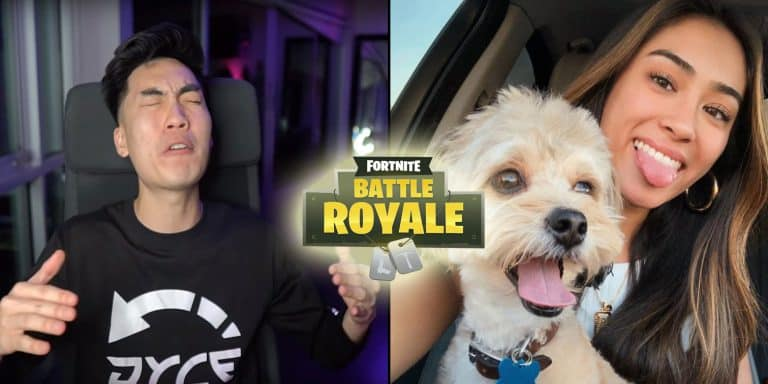 RiceGum Fortnite Battle Royale Twitch Instagram Model Game dariahadipour