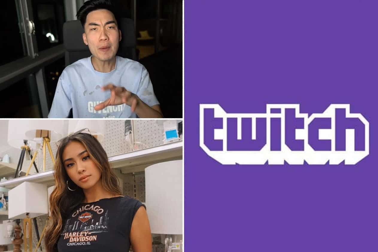 RiceGum Shows Outfit Fortnite Stream. Instagram Model Laughs Savannah Palacio @savpalacio .