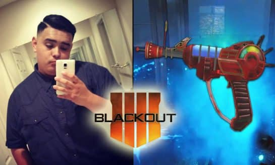 SoaR Talon Does Crazy Trickshot with Ray Gun in Blackout Call of duty Esports SoaR Gaming
