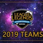 Spring NA LCS 2019 Esports Team League of Legends LoL