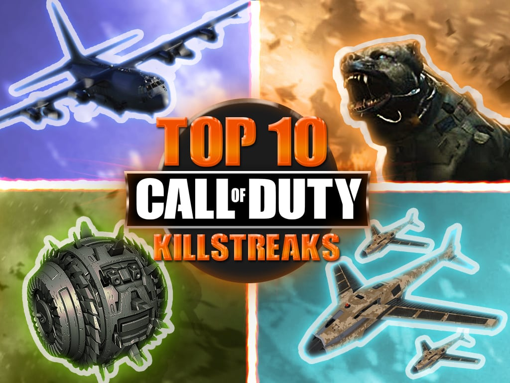 Top 10 Call of Duty Killsteaks of All Time BEST Game Life