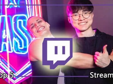 Top 5 Streamers to Watch League of Legends Esports LoL Twitch