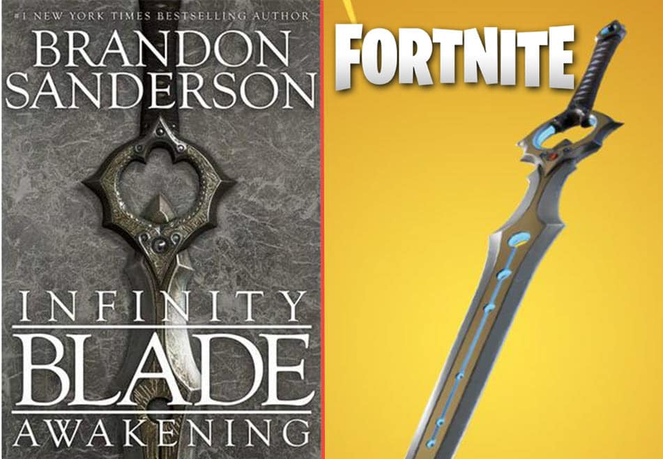 fortnite items copied from others infinity blade example