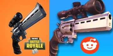 fortnite scope revolver and hand canon prototype