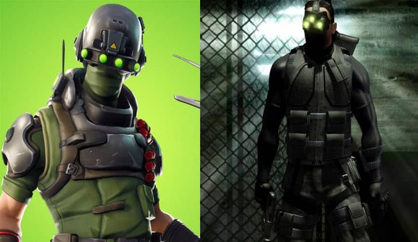 fortnite tech ops vs Sam Fisher Splinter Cell