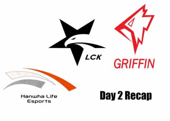 hanwa and griffin day 2 2019 lck recap