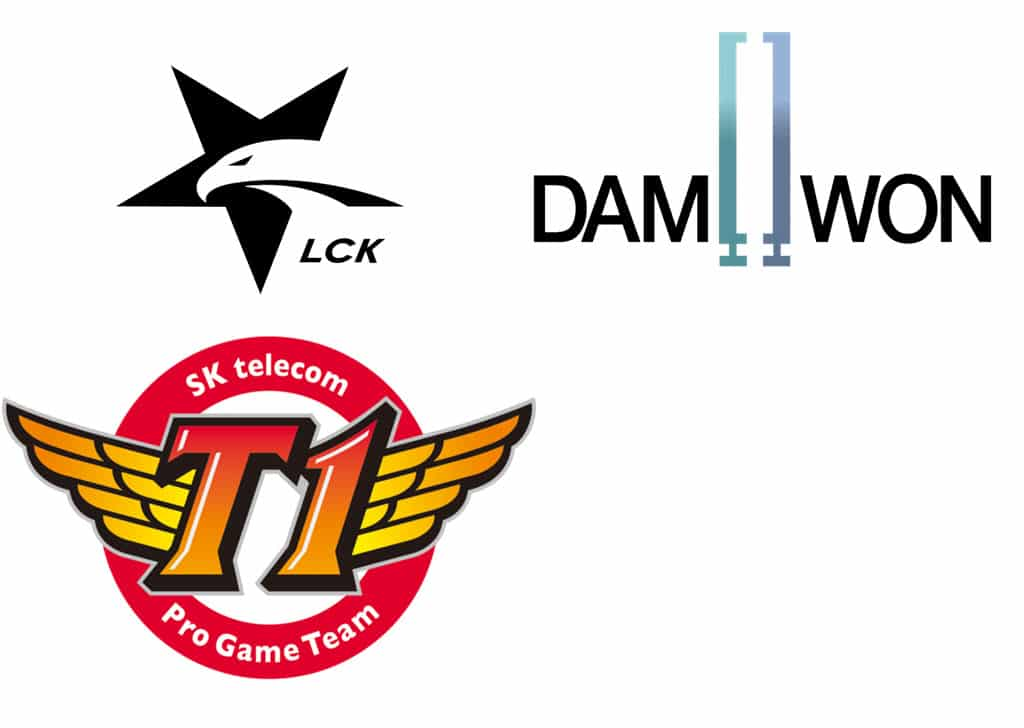 skt and damwon sweep opening LOL LCK 2019 series