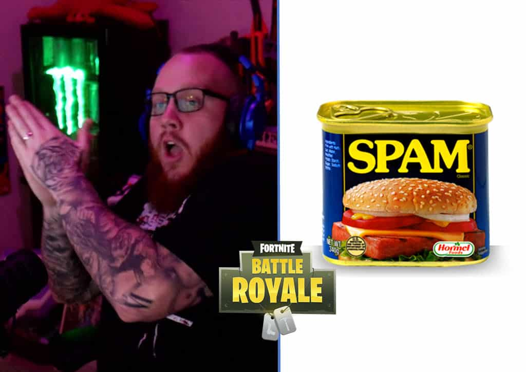 timthetatman raging at his viewers to stop chat spam