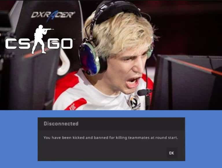 xQcOW banned in CS GO after strange behavior