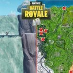 All Fortnite Waterfall Map locations