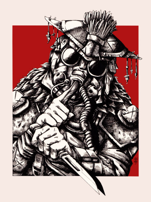 Apex Legends Art Bloodhound I am Bloth Hoondr Art Artwork