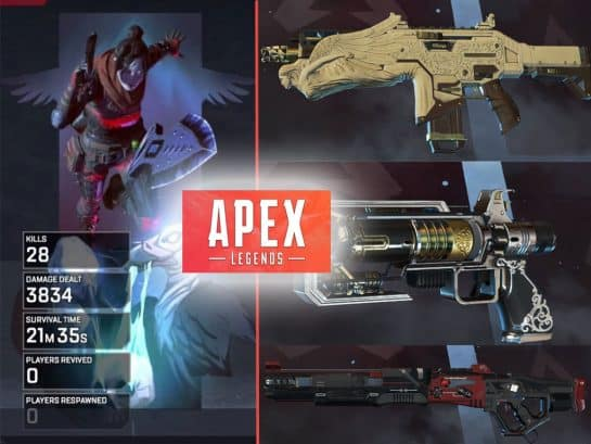 Apex Legends Best Guns Damage List