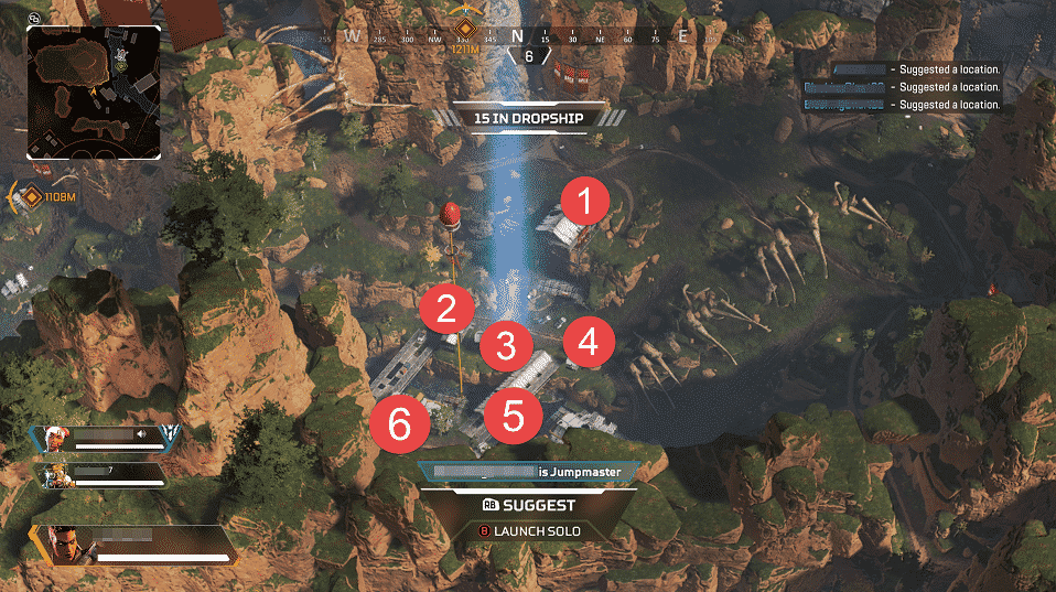 Apex Legends Bridge Location Low Tier Loot Bad Spot
