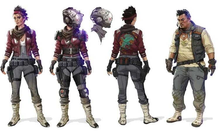 Apex Legends Characters concept 2
