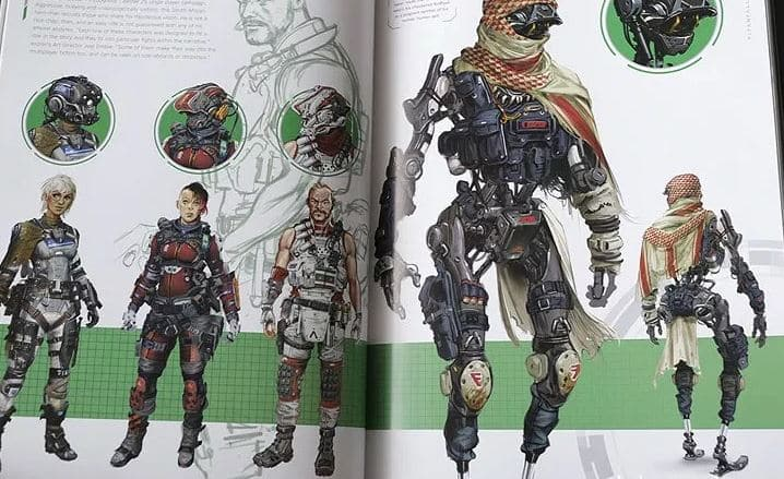 Apex Legends Characters concept 3