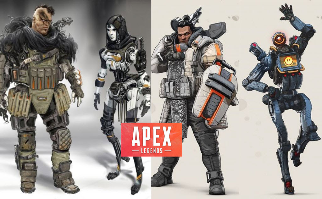 Apex Legends Characters concept from titanfall2