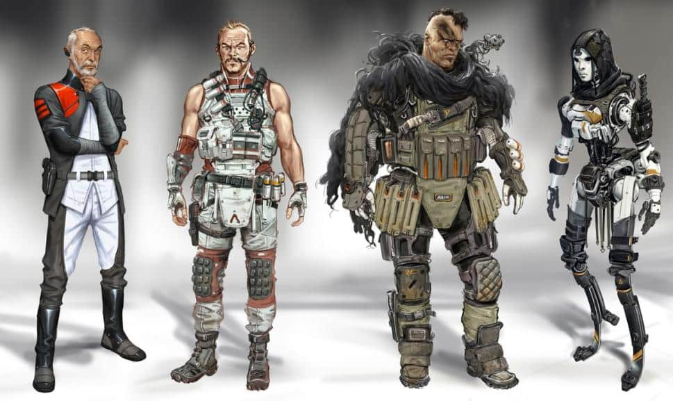 Apex Legends Concepts From Titanfall 2 Art Game Life