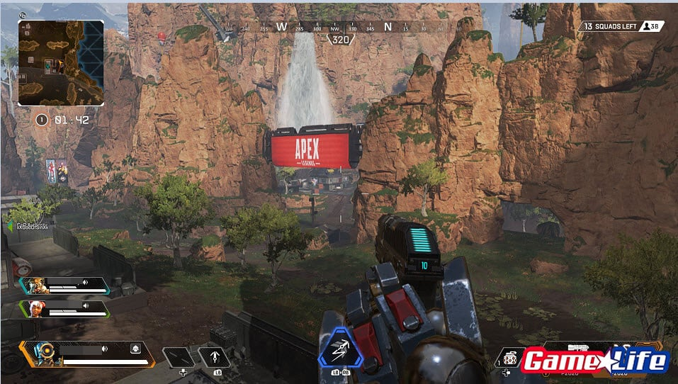 Apex Legends Fall Jump Climb Perk No Damage EA Games