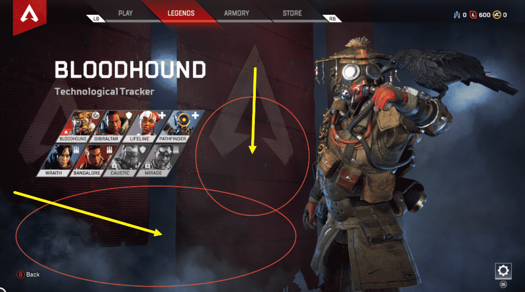 Apex Legends Leaked Players Room for Spots in Title Screen