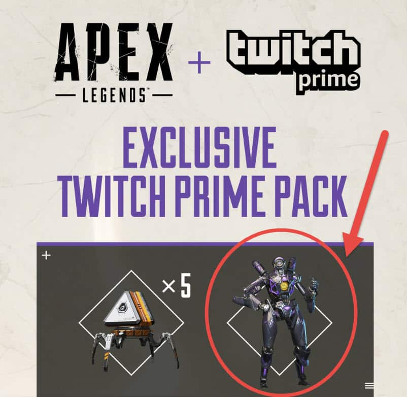 Apex Legends Legendary Omega Point Pathfinder skin
