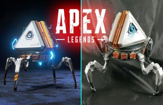 Apex Legends Loot Tick Custom Made Fan Art Model Replica