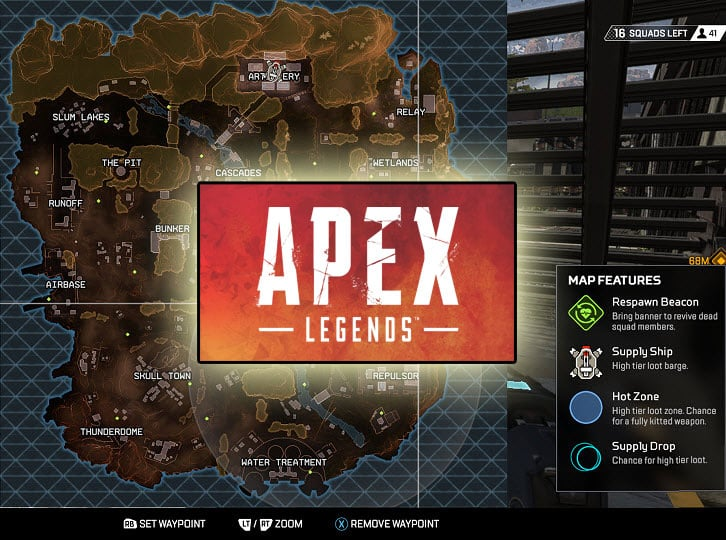 Apex Legends Worst Drop Zones