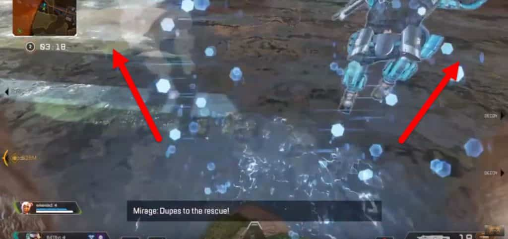 Apex Legends Mirage Dupes Decoy Vanishing Act