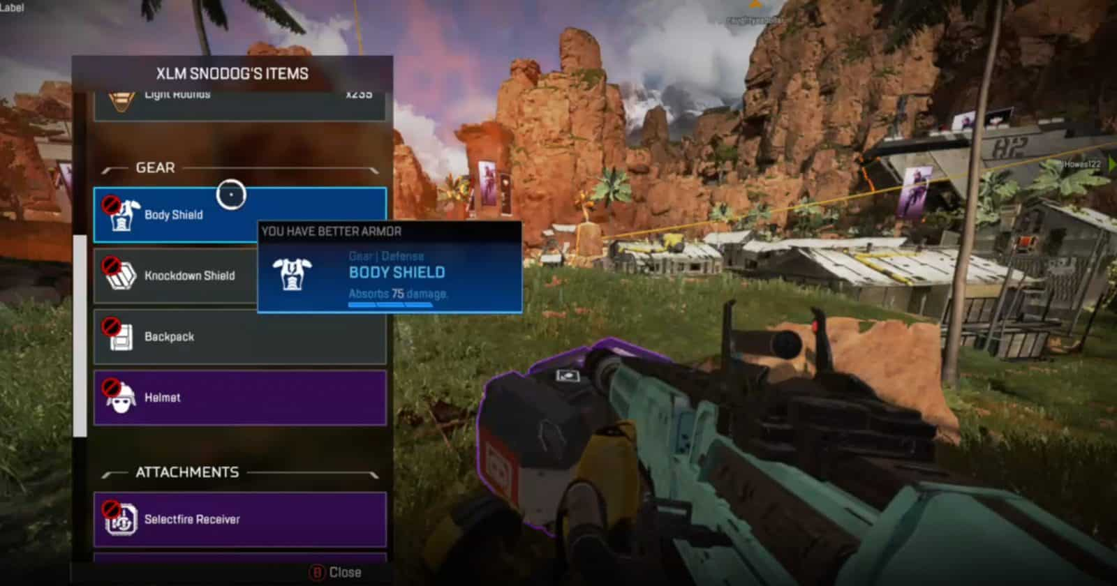 Apex Legends Pro Tips Shield Power EA Inventory Death box