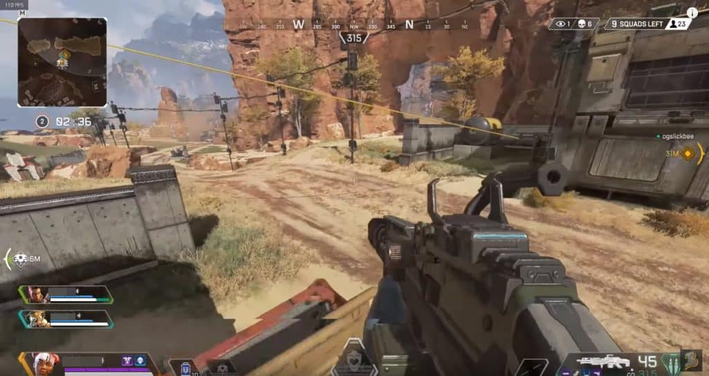 Best Gun Combo in Apex Legends Spitfire Machine Gun Best in Game Charge