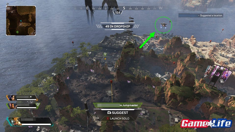 Apex Legends Supply Ship Care Package Drop Ship Purple Armor EA