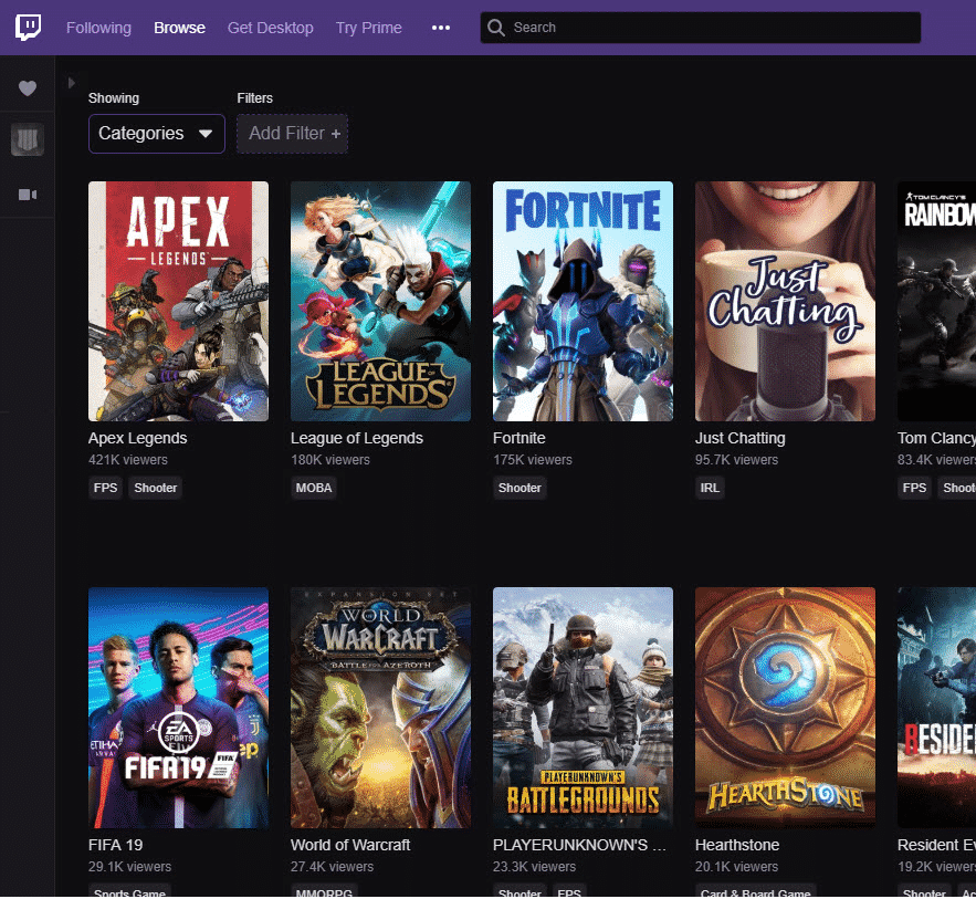 Apex Legends Twitch Most Popular Game Than Fortnite Battle Royale