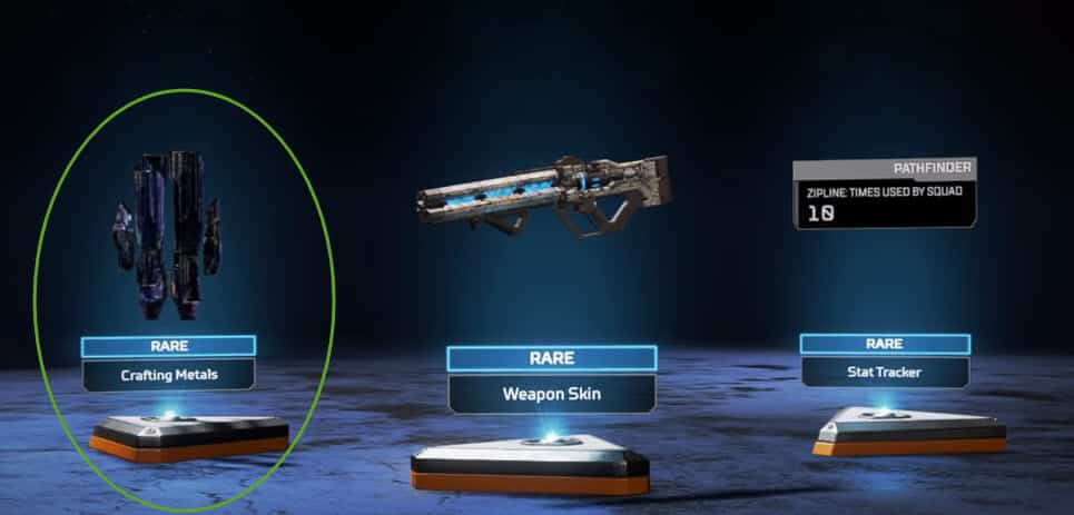 How to Craft Metals in Apex Legends Crafting Metals Apex Packs