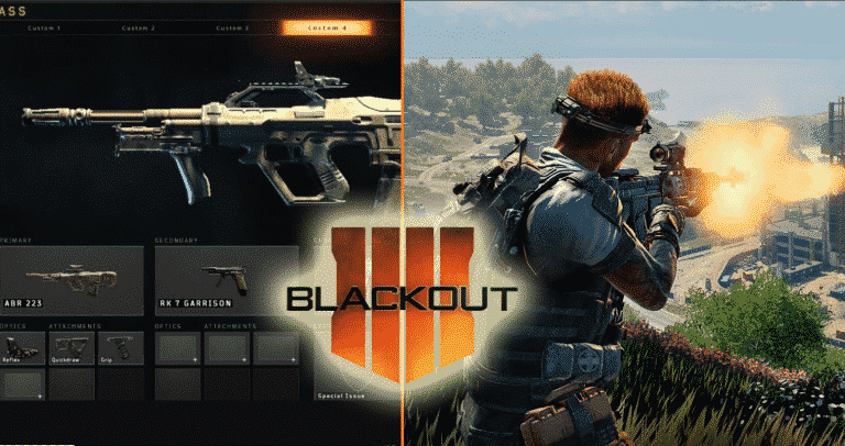 Best Gun Class for BlackOut Call of Duty Black Ops 4 Esports