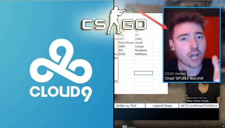 CSGO Analyst SPUNJ Gets Mad at Cloud9 Esports Fan