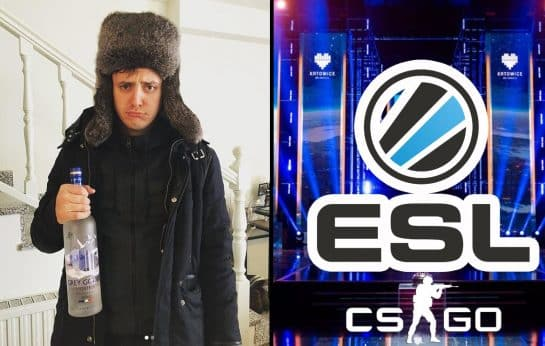 CSGO Pro Apex Vitality Fumbles Word at ESL Katowice Interview Esports