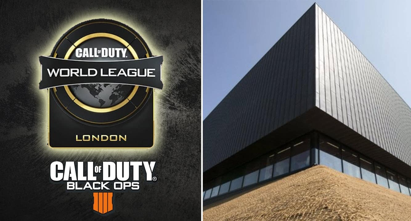 CWL London Event Call of Duty World League Open Tournament Gfinity Esports