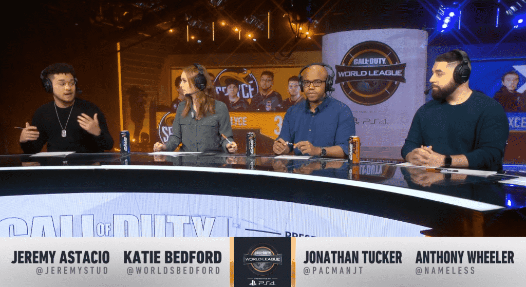CWL Pro League Panel Analyst Caster Reporter Tucker Bedford Wheeler Astacio