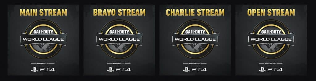 Call of Duty Main Stream Bravo Charlie Open Delta CWL Pro League Channel