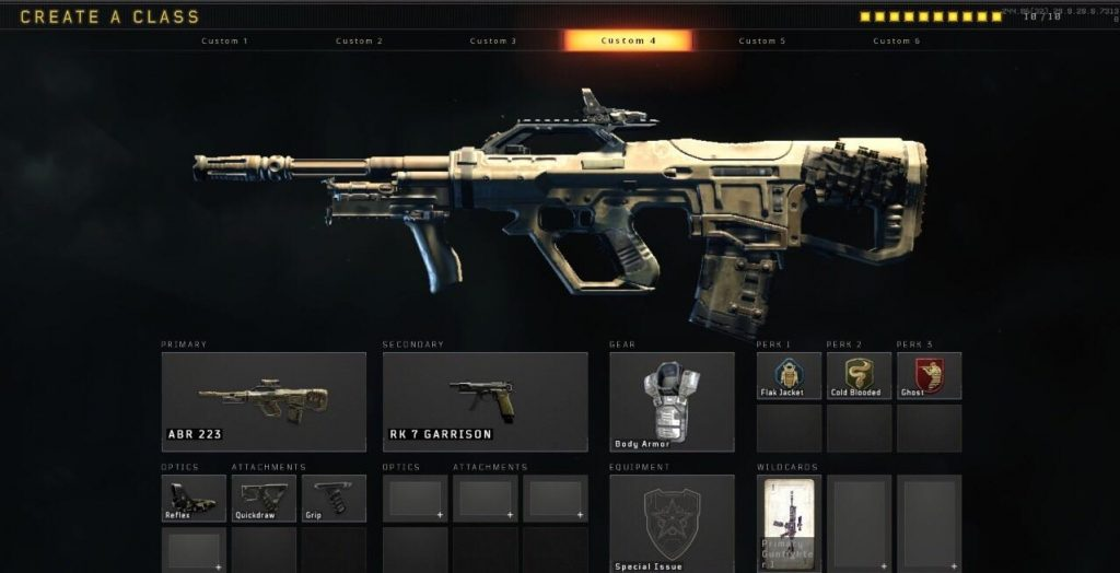 Call_of_Duty Black Ops 4 ABR 223 Best Gun Class for BlackOut