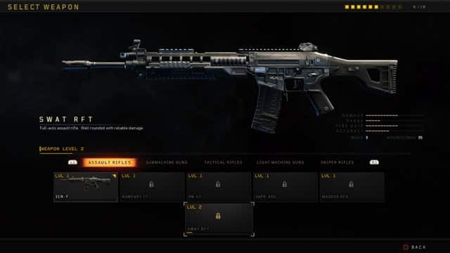 Call_of_Duty Black Ops 4 Swat RFT Best Gun Class for BlackOut