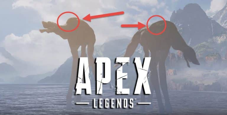 Can You Reach the Leviathan Creature Apex Legends Dinosaur Monster Easter Egg