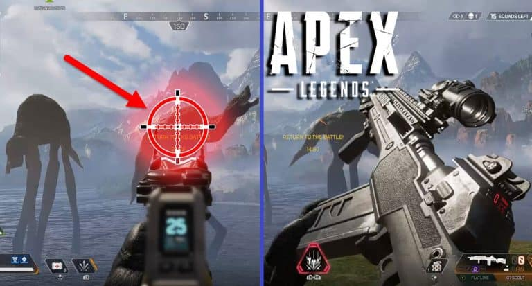 Can You Shoot Leviathan Monster in Apex Legends