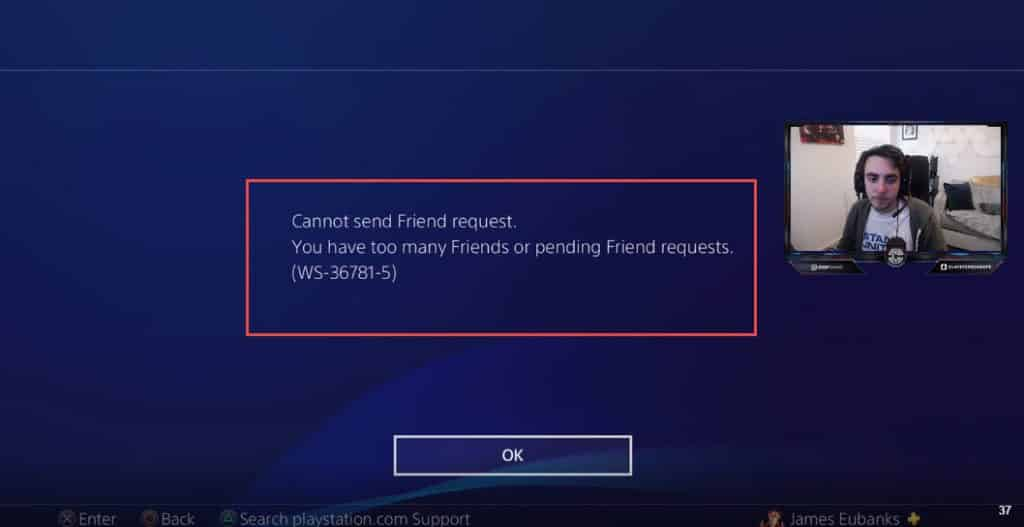 Clayster Friend Request Delete All Button PS4 Add This eUnited Call of Duty