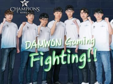 DAMWON Gaming Clan Team Korea LCK LoL League of Legends Esports