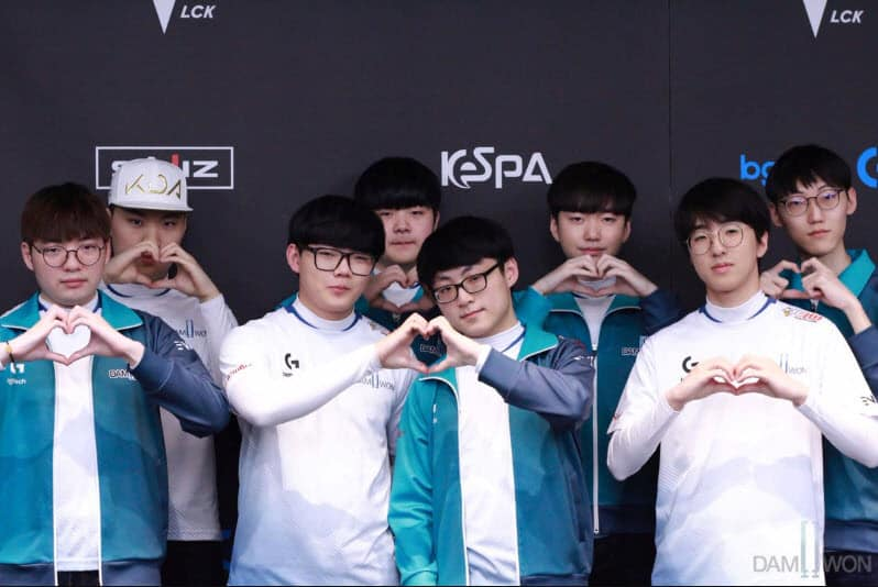 DAMWON Gaming Clan Team Korea LCK LoL League of Legends
