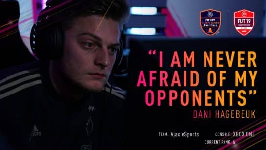 Dani 46 EA FIFA 19 Esports Pro Gaming Ajax League